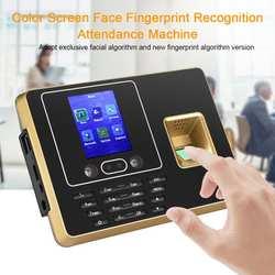 2,8 дюймов TFT lcd экран лицо пароль отпечатка пальца машина распознавания часы-Регистратор посещений рекордер