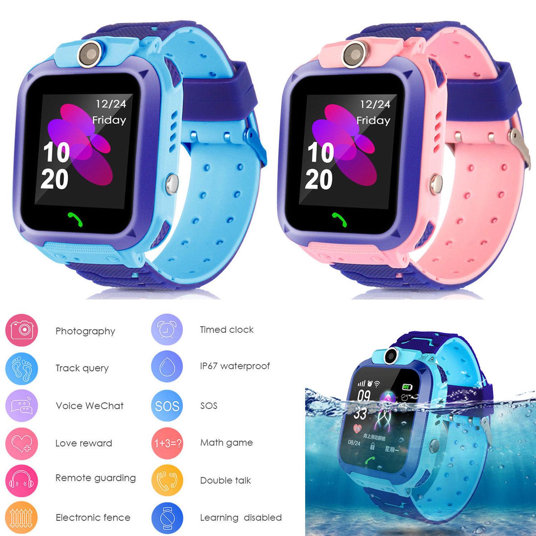 Kids Smart Watch Child Waterproof Tracker Anti-lost  Call For iOS AndroidKids Smart Watch Child Waterproof Tracker Anti-lost  Call For iOS Android