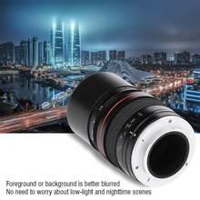 135 мм F2.8 DSLR Full-frame телеобъектив с большой диафрагмой ручной объектив с фиксированным фокусом