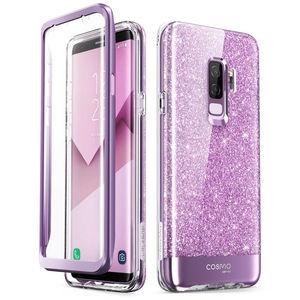 Image 3 - Abdeckung Für Samsung Galaxy S9 Fall ich Blason Cosmo Volle Körper Glitter Marmor Stoßstange Schutzhülle mit Gebaut in Screen Protector