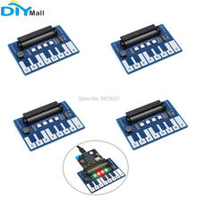 4pcs/lot Mini Piano Module Expansion Board Capacitive Touch Controller TTP229 I2C Interface for Micro:bit Microbit Touch Keys Pl ootdty mcp23017 16 bit io port expander module pin board i2c interface for arduino c51