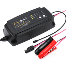 цены на AC 220-240V to DC 12V 2A 4A 8A  Smart Automatic 7 Stages Battery Charger  For Automobile Motorcycle Battery  в интернет-магазинах