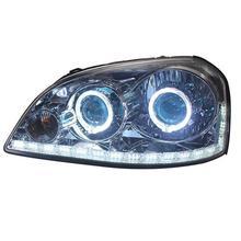 Drl поворотов сбоку запчасти снаружи дневная лампа сборки Cob светодиодные ходовые огни автомобиля Освещение Фары для Buick Excelle