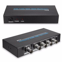 1x4 3G/HD/SD SDI Video Splitter BNC 1 In 4 Out Distributor 1920*1080p for HDTV Switcher