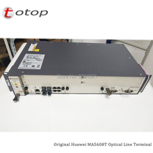 19インチのhuawei gpon oltとMA5608T 1 * mcud (1グラム) + 1 * mpwd (ac) + 16ポートgpfd c + ライン光終端