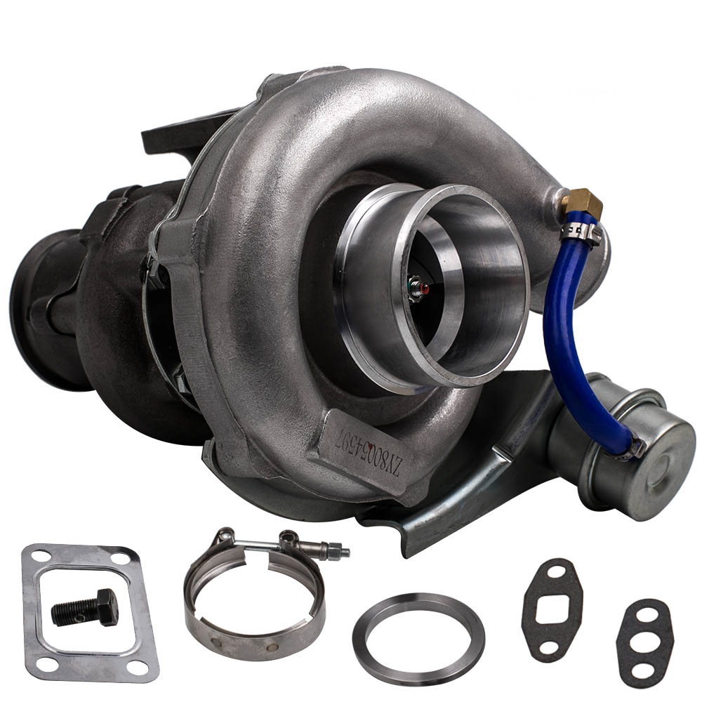 Turbo charger Kit for Nissan Safari Patrol 4.2L TD42 TD42T1 GQ GU Y60 Turbine for HYBRID T3 T4 T03 T04 Turbo V-band 2.0L-3.5L turbine