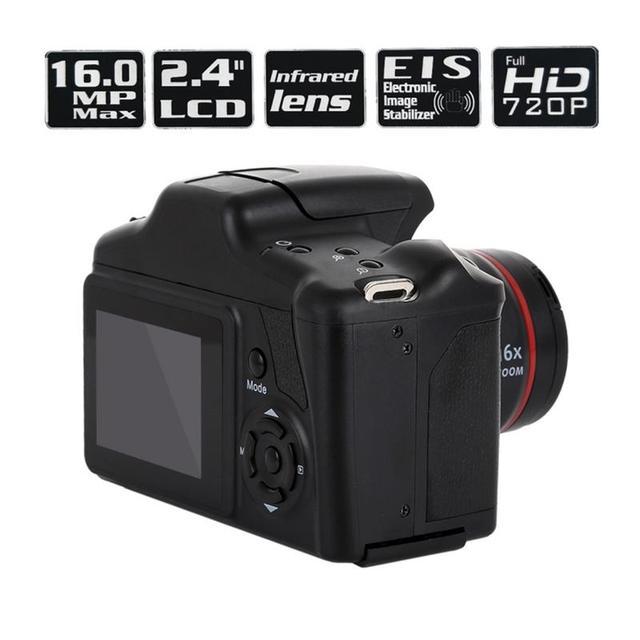 Best Price Portable Digital Camera Camcorder Full HD 1080P Video Camera 16X Zoom AV Interface 16 Megapixel CMOS Sensor Hot Sale 1