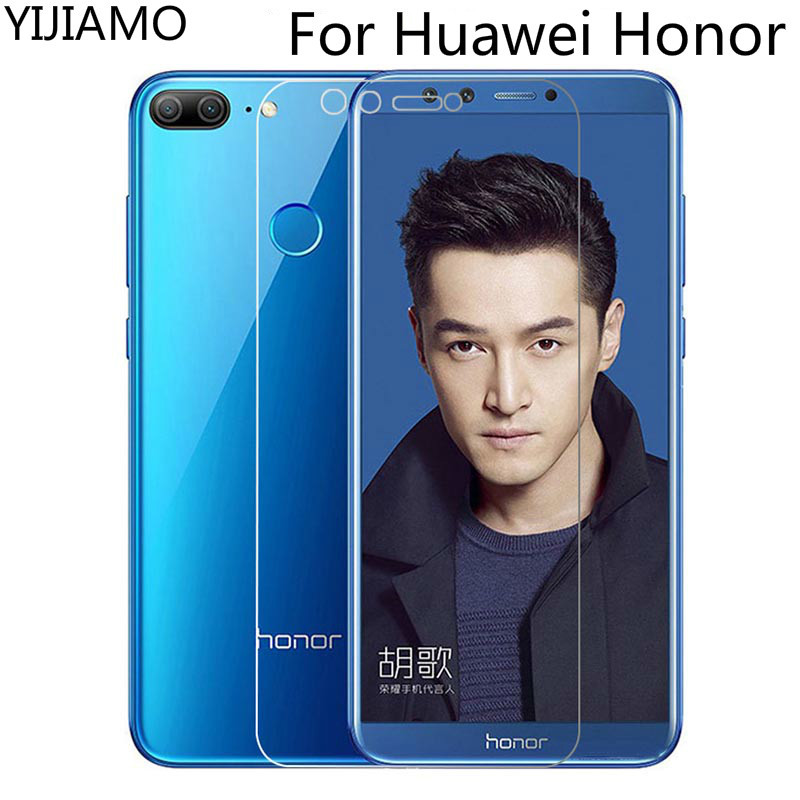 Tempered Glass For Huawei Honor 9 Lite 8C View 10 Screen Protector For Honor 7X 8 Lite Glass On For Honor 10 Lite 6 7 Lite Film