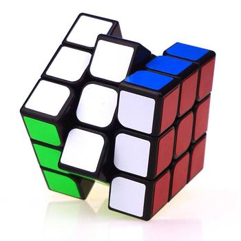 цена на Classic Colorful 3x3x3 Three Layers Magic Cube Profissional Competition Speed Cubo Non Stickers Puzzle Magic Cube Cool Toy Boy