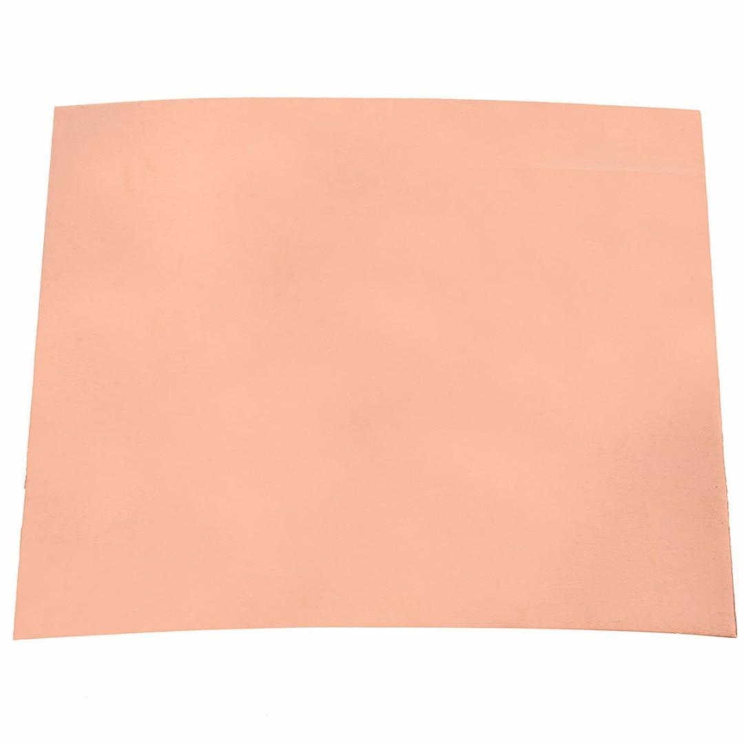 Newest 100*100mm 99.9% Pure Copper Cu Metal Sheet Foil Copper Plate 0.2mm Thickness