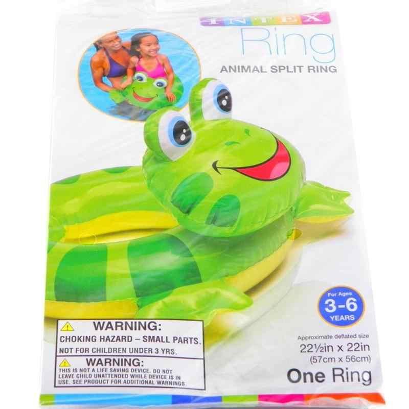 Детское надувное кольцо для плавания, плавающее кольцо для плавания в форме животного, плавательный бассейн, пингвин, лягушка, утка, Baby Floatie