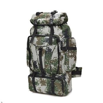 60L Large Capacity Backpack Multifunction bag Waterproof Military Backpack Rucksack Hike Travel Backpacks Mochila Militar bags