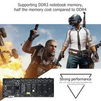 B250 BTC Mining Motherboard CPU 8 Card DDR3 Memory LGA1511 Expansion Adapter Desktop Computer Motherboard