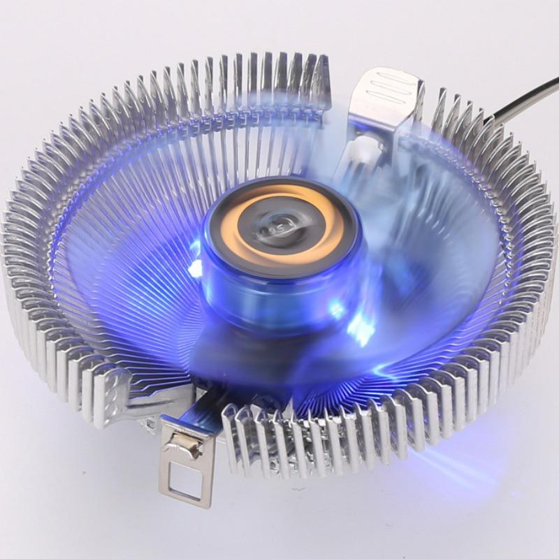 12 V Dc Cpu Kühler Hohe Qualität Pc Cpu Kühler Lüfter Kühlkörper Für Intel Lga775 1155 Amd Am2 Am3 754 Großhandel Preis