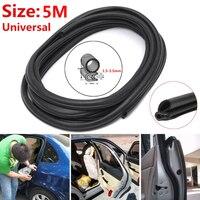 Seal Strip Car Door Trunk Lip Edge Protector Strip Waterproof Anti Noise Black