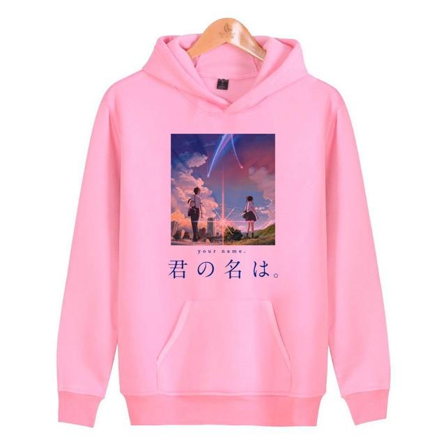 quality design 4ecba 0604b Shigatsu wa kimi keine uso hoodies mann hoody unisex custom hoodie hoodie  mannen katoen winter casual sweatshirt V2258