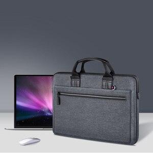 Image 2 - WIWU laptop çantası macbook çantası hava 13 durumda Pro 13 15 16 kadın erkek çantası dizüstü bilgisayar çantası 14 inç naylon su geçirmez laptop çantası 15.6