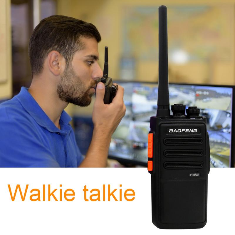 Outdoor EU & US Walkie Talkie BAOFENG BF-T99PLUS 8W High Power 16 Channels Rechargeable Long Range Two Way Radios Walkie Talkie
