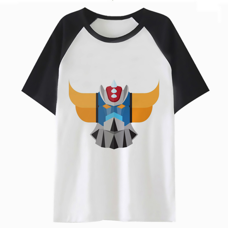 Goldorak T Shirt Streetwear Male T-shirt Harajuku Top Hip Funny For Clothing Men Tee Hop Tshirt I3011