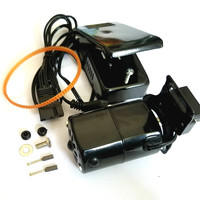 Black 1.0 Amps Universal Home Sewing Machine Motor Foot Pedal Controller 100W