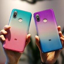 KISSCASE Transparent Phone Case For Xiaomi mi 8 8se Redmi 4X 5A 5 Plus Note 4 Colorful Fundas Coque Capa Covers