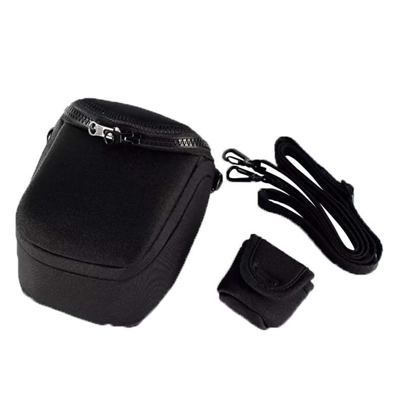 Waterproof Soft Camera Bag Case With Strap For Canon Eos M100 M50 M10 M6 M5 M3 M2 G1Xiii G1Xii Sx530 Sx540 Sx430 And For Panas image