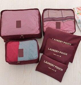 Image 4 - Travel ยอมรับแพคเกจกันน้ำเสื้อผ้าชุดชั้นในกระเป๋าหนา Fine หน้าจอ Trunk หกชุดกระดาษ Closet Organizer