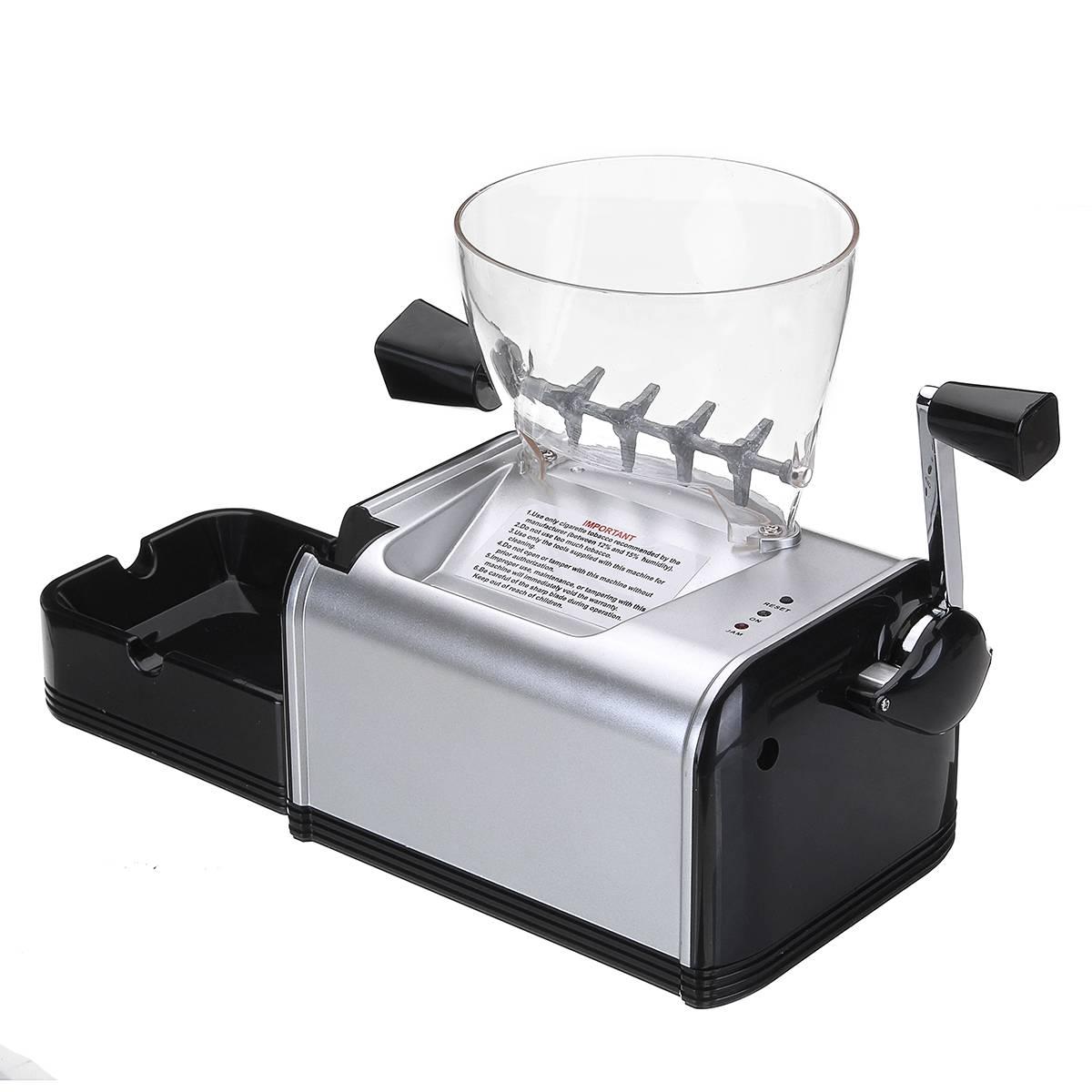 Elétrico automático Que Faz A Máquina de Rolamento do Cigarro Máquina de Rolo Fabricante De Tabaco Injector Eletrônico Portátil Fácil Ferramenta de Fumar