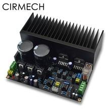 CIRMECH LM3886 Stereo high power amplifier board OP07 DC servo 5534 independent operational amplifier Shen Jin PCB KIT