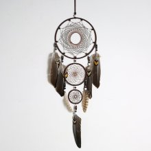 XR087 Wind Chimes Handmade Indian Dream Catcher Net Wall Hanging Dreamcatcher Craft Gift Home Decoration