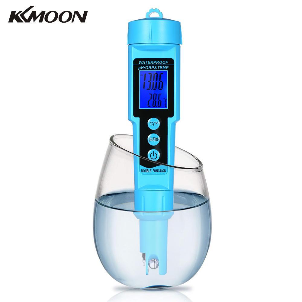 3 in 1 pH ORP TEMP Meter Water Detector Digital LCD Tri Meter Water Quality Monitor
