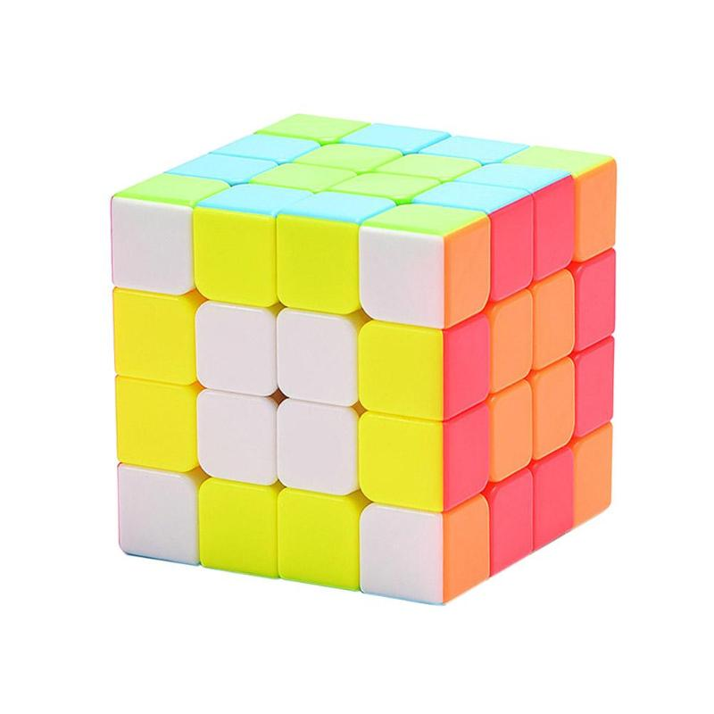 4x4x4 Magic Cube Profissional Competition Speed Cubo Puzzle Rubiks Cube Cool Kids Toys Educational Puzzle Cubo Magico Toys newest qiyi warrior w 3x3x3 profissional magic cube competition speed puzzle cubes toys for children kids cubo magico qi103