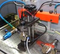 Diesel общая топливораспределительная рампа струбцина инжектора frame установлен в общая топливораспределительная рампа Тесты bench, с дизельное