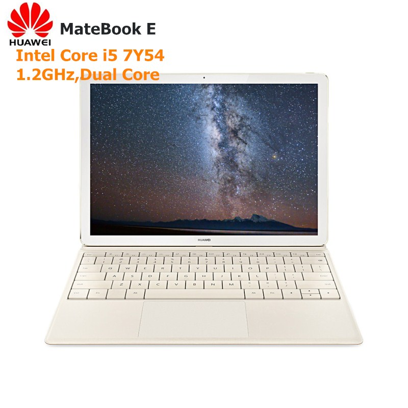 HUAWEI MateBook E 2 в 1 планшетный ПК 12 ноутбук Windows10 Intel Core I5 7Y54 двухъядерный 1,2 ГГц 8 Гб 128 ГБ/256 ГБ сенсорный экран ноутбук