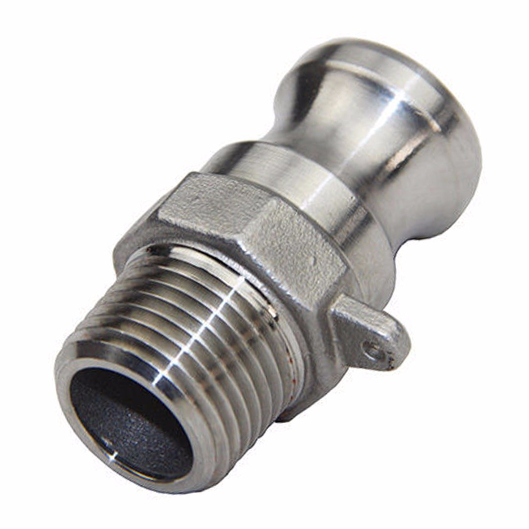 304 Stainless Steel Homebrew Camlock Fitting Adapter 1 2 inch MPT FPT Barb Camlock Female Coupler Hose Barb Quick Connector in Pipe Fittings from Home Improvement