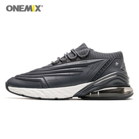 ONEMIX Men Running Shoes 95 Leather Upper Air Cushioning Soft Midsole Sneakers Casual Outdoor Shoes Max EU 47 Woman Sneakers