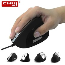 CHYI Ergonomic Wired Vertical Mouse High Precision 800/1000/1200/1600D