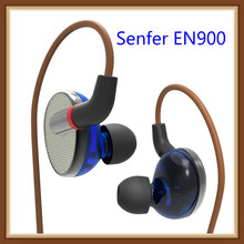 SENFER EN900 2BA+2DD Hybrid 4 Drive Unit In Ear Earphone Monitor DJ HIFI Earplhone With Detachable D