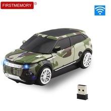 Souris sans fil 3D 2.4Ghz, modèle de voiture, avec récepteur USB, pour ordinateur portable, Macbook Pro