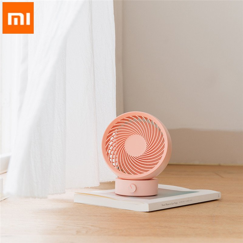 XIAOMI 3Life Low Noise Mini Air Circulation Fan 330 Strong Wind Power USB Charging High Wind Three Dimensional Air SupplyXIAOMI 3Life Low Noise Mini Air Circulation Fan 330 Strong Wind Power USB Charging High Wind Three Dimensional Air Supply