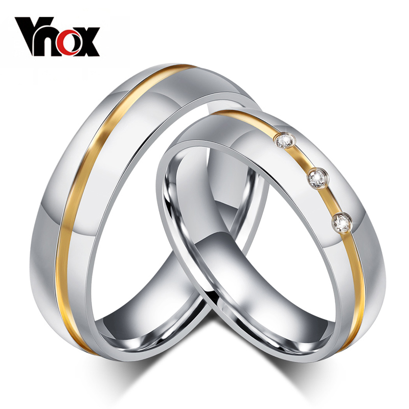 10pcs/lots Wholesale Couple Wedding Ring For Women Men Stainless Steel Jewelry Provide Mix Size