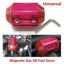 1 шт. красное автомобильное металлическое топливосберегающее устройство, магнитное газовое маслосберегающее устройство, универсальное Брендовое и качественный