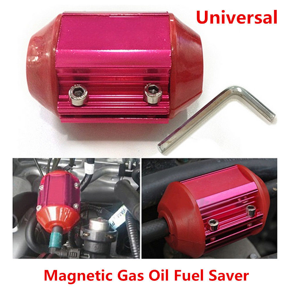 1 PCS Red Car Metal Fuel Saver Device Magnetic Gas Oil Saving Device Universal1 PCS Red Car Metal Fuel Saver Device Magnetic Gas Oil Saving Device Universal