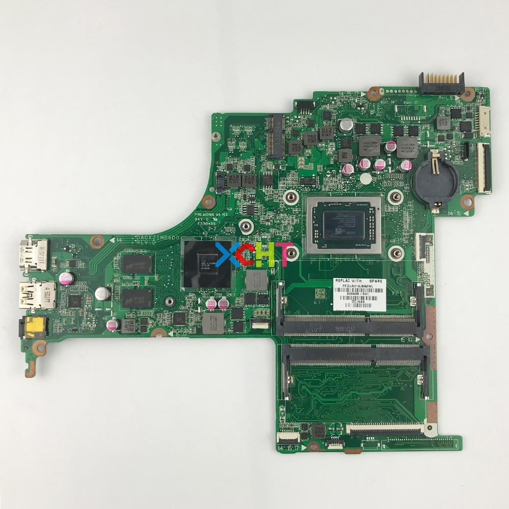 809408-501 809408-001 DA0X21MB6D0 R7M360/2GB A10-8700P CPU For HP Pavilion 15 15-AB Series 15Z-AB00 NoteBook Motherboard Tested
