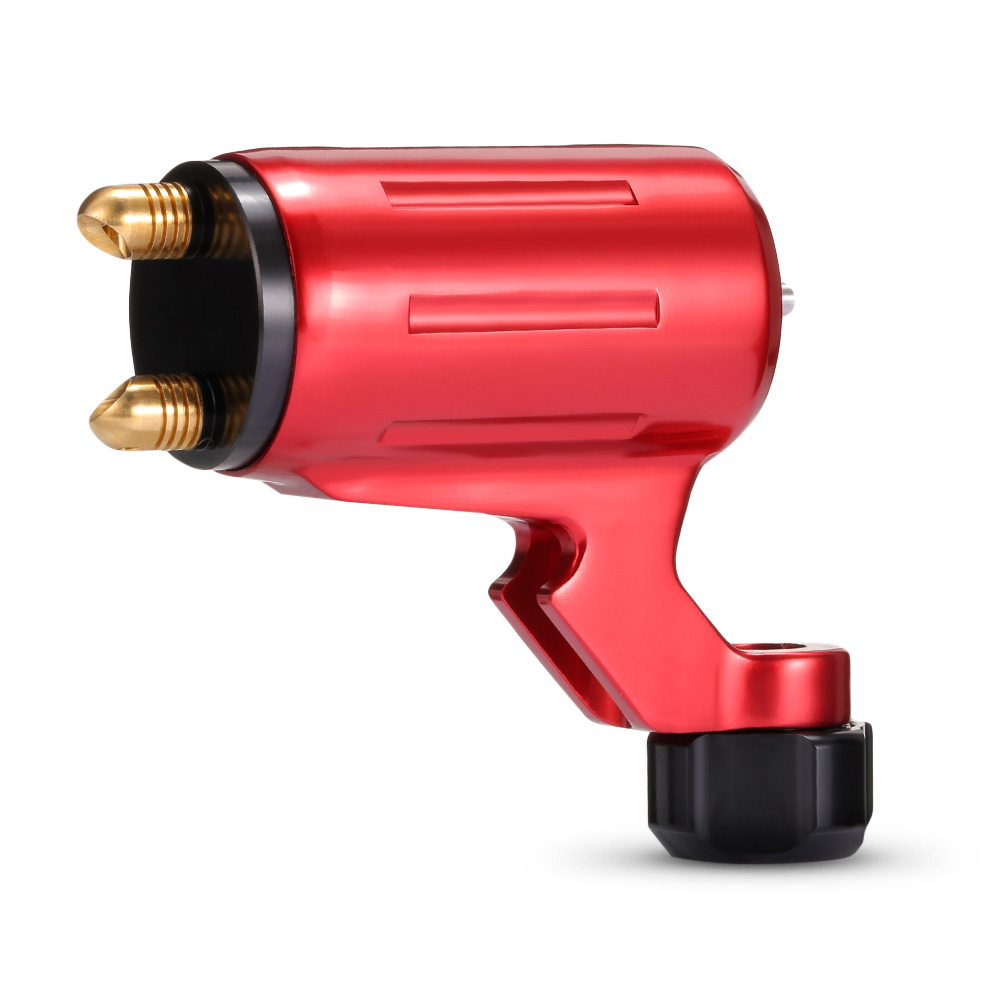 Adjustable Stroke Direct Drive Rotary Tattoo Machine Free Rca Cord For Tattoo Supply -- Stm-69 RedAdjustable Stroke Direct Drive Rotary Tattoo Machine Free Rca Cord For Tattoo Supply -- Stm-69 Red