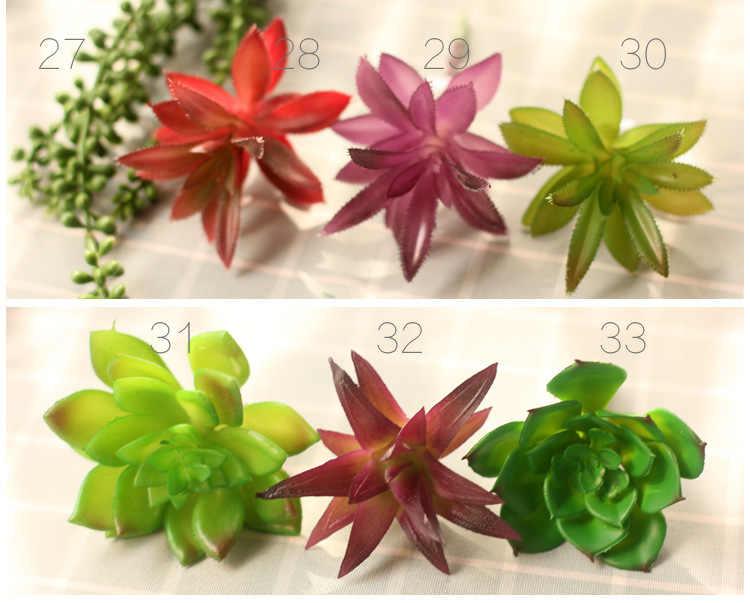 Hochzeit Home Garten Büro Schlafzimmer Wohnzimmer Dekoration Künstliche Pflanzen Mini Sukkulenten Pflanzen 33 Stil Pick Up Gefälschte Pflanzen