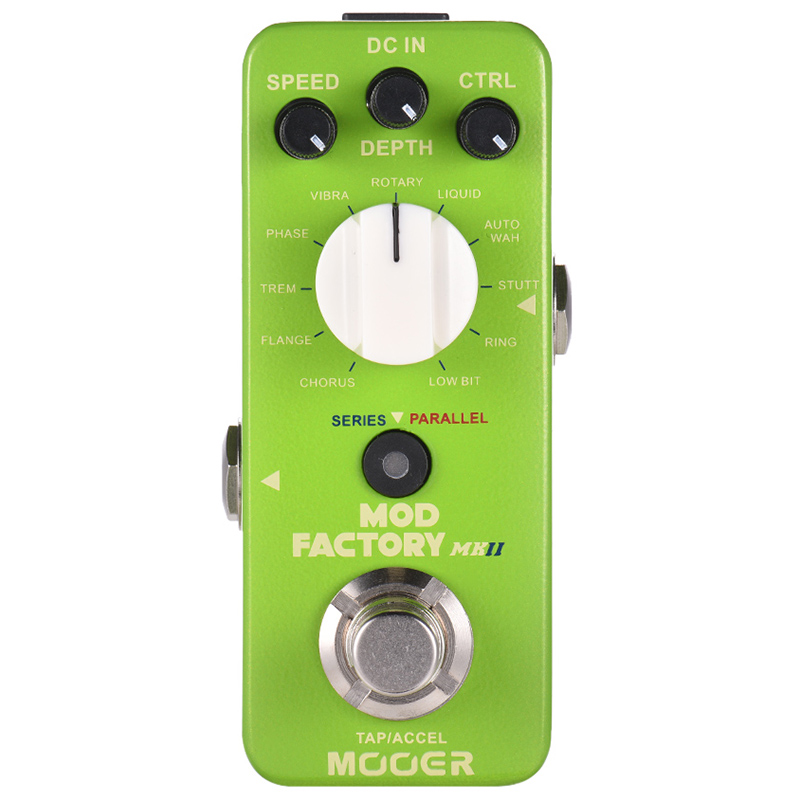 MOOER Mod Factory Mkii Multi Modulation Effect Pedal 11 Modulation Effects Tap Tempo True Bypass Full Metal ShellMOOER Mod Factory Mkii Multi Modulation Effect Pedal 11 Modulation Effects Tap Tempo True Bypass Full Metal Shell