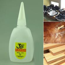Fast For Leather Rubber Metal Wood Glue 20g Epoxies 2Pcs SuperGlue Instant Quick-drying Glue Cyanoacrylate Adhesive Strong #1026 9ml super e6000 liquid glue touch screen cyanoacrylate e 6000 stationery store bts rubber metal leather wood adhesive