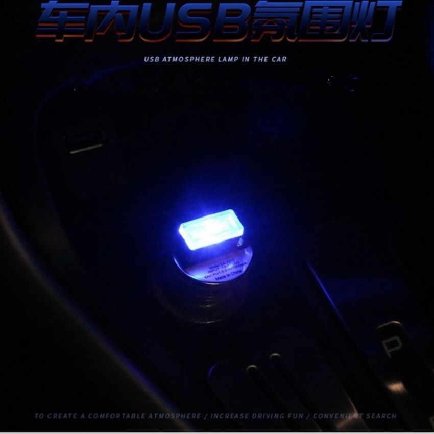 MOBIL NEON Suasana Ambient Lampu untuk Kia Sorento Lada Kalina BMW Aksesoris FORD KUGA Volkswagen Golf 4 Astra G Peugeot 3008