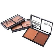 Blueness 2 Color 3 Designs Natural Makeup Eyeshadow Concealer Palette Waterproof Long Lasting Eye Face Set